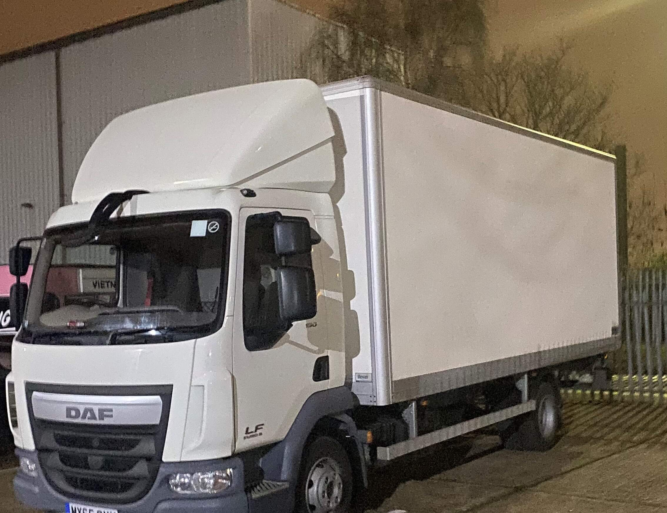 man and 7.5 truck hire